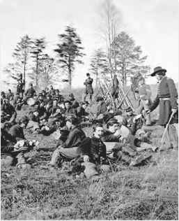 Union Soldier Battle Chancellorsville