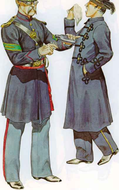 Parliament Infantry Uniforms