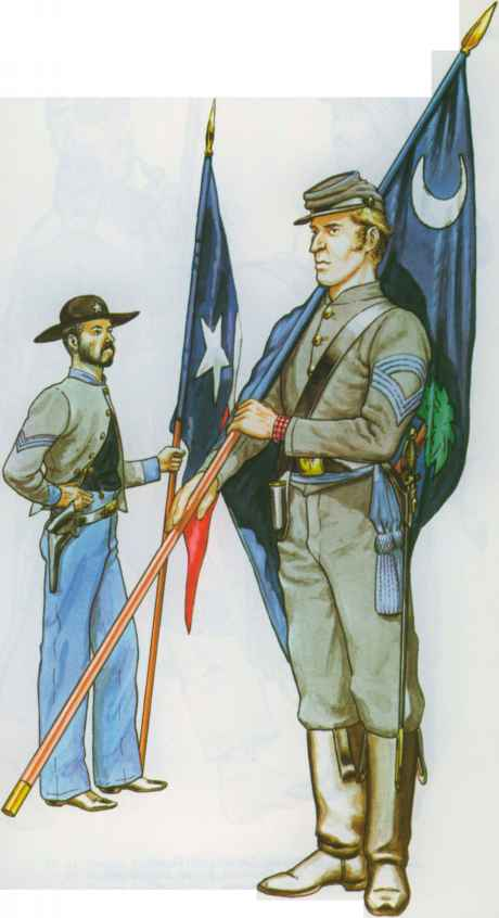 Sergeant South Carolina Volunteers 1861