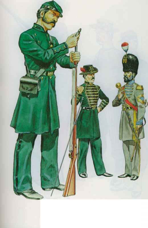 1st Louisiana Native Guard Uniform
