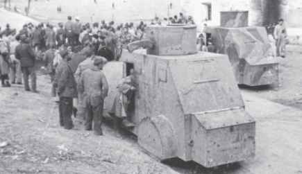 Armored Truck The Spanish Civil War
