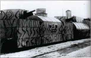 Photo German Armored Trains