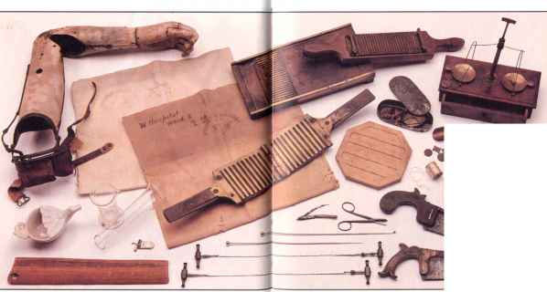 Civil War Wooden Splint