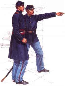 Union Artillery Uniforms