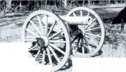 Confederate Pdr Mountain Howitzer
