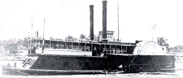 Tinclad River Gunboat Photo