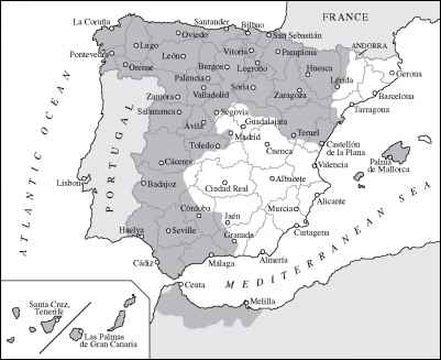 Madrid Surrendering Francos Authority