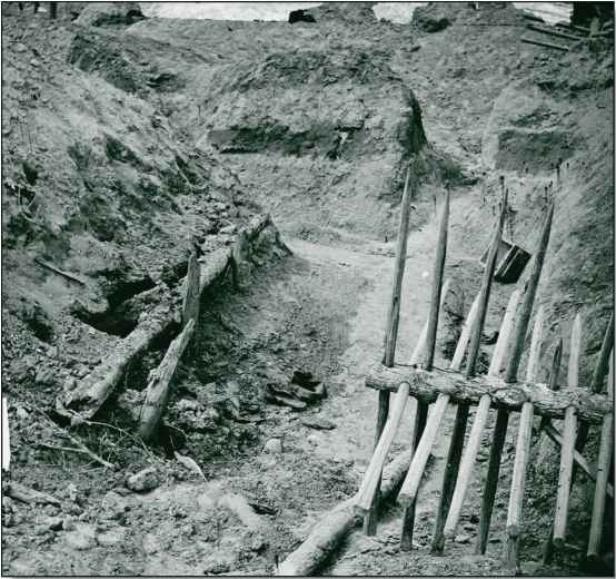 Civil War Petersburg Trenches