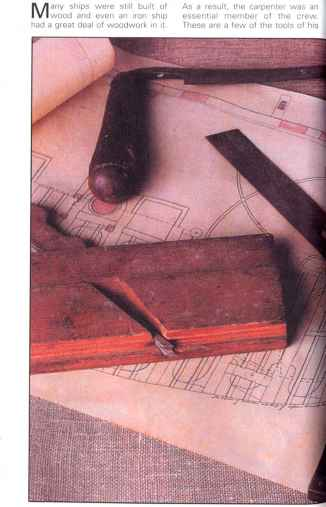 Carpenter Tools Wooden Box