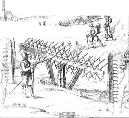 Wicker Defences Earthworks