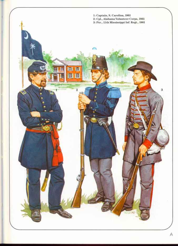 Confederate Army Uniform Regulations
