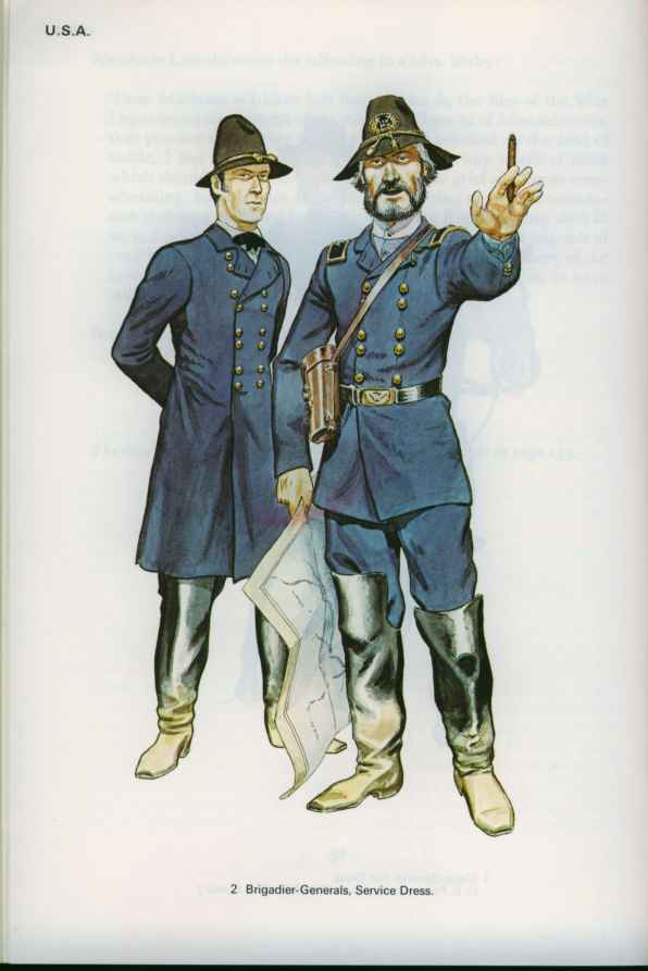 American Civil War Cavalry Uniforms