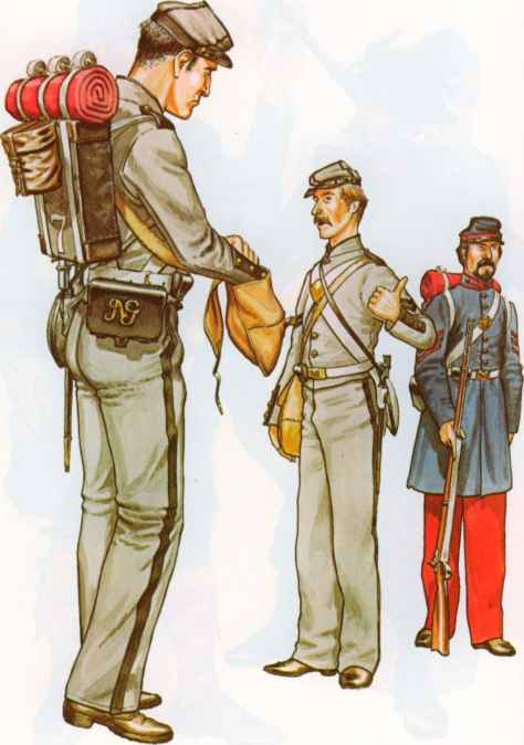 Army Uniforms Mexican War