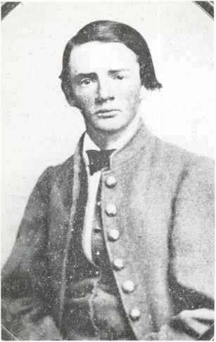 Jones Virginia Confederate Cavalryman