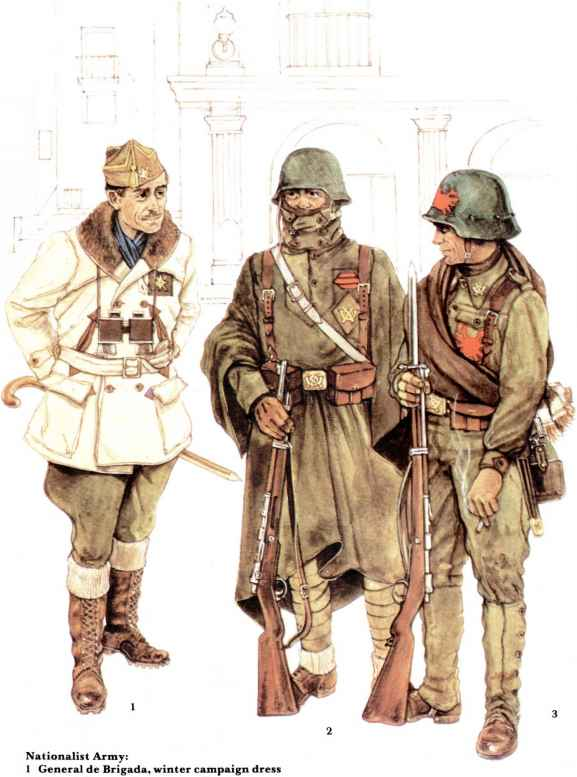 Spanish Legion Uniforms
