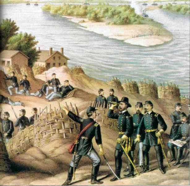 Battle Vicksburg Miss