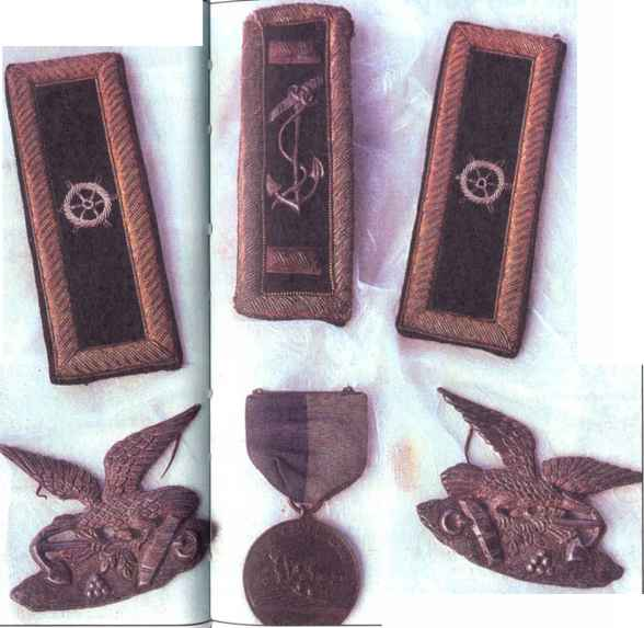Civil War Navy Insignia
