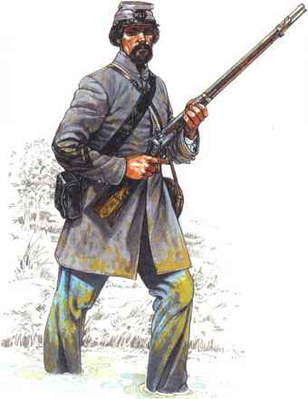 Uniforms 4th Texas Infantry