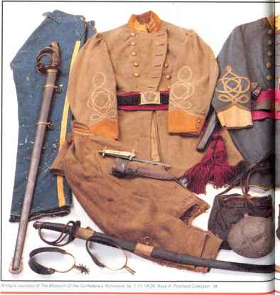 Confederate Cavalry Uniform