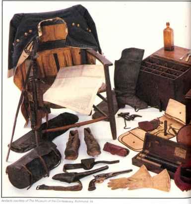 Confederate Officers Camp Equipment Museum Philadelphia