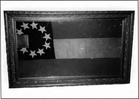 Captured Tennessee Flag