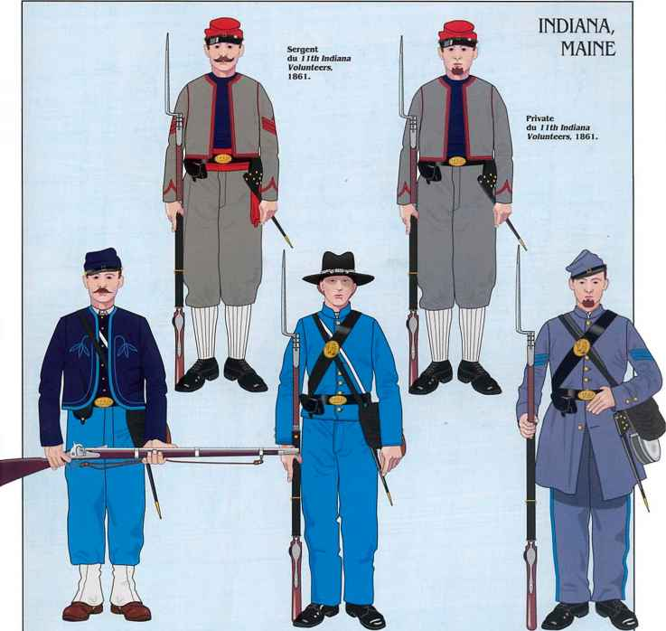 11th Indiana Zouaves