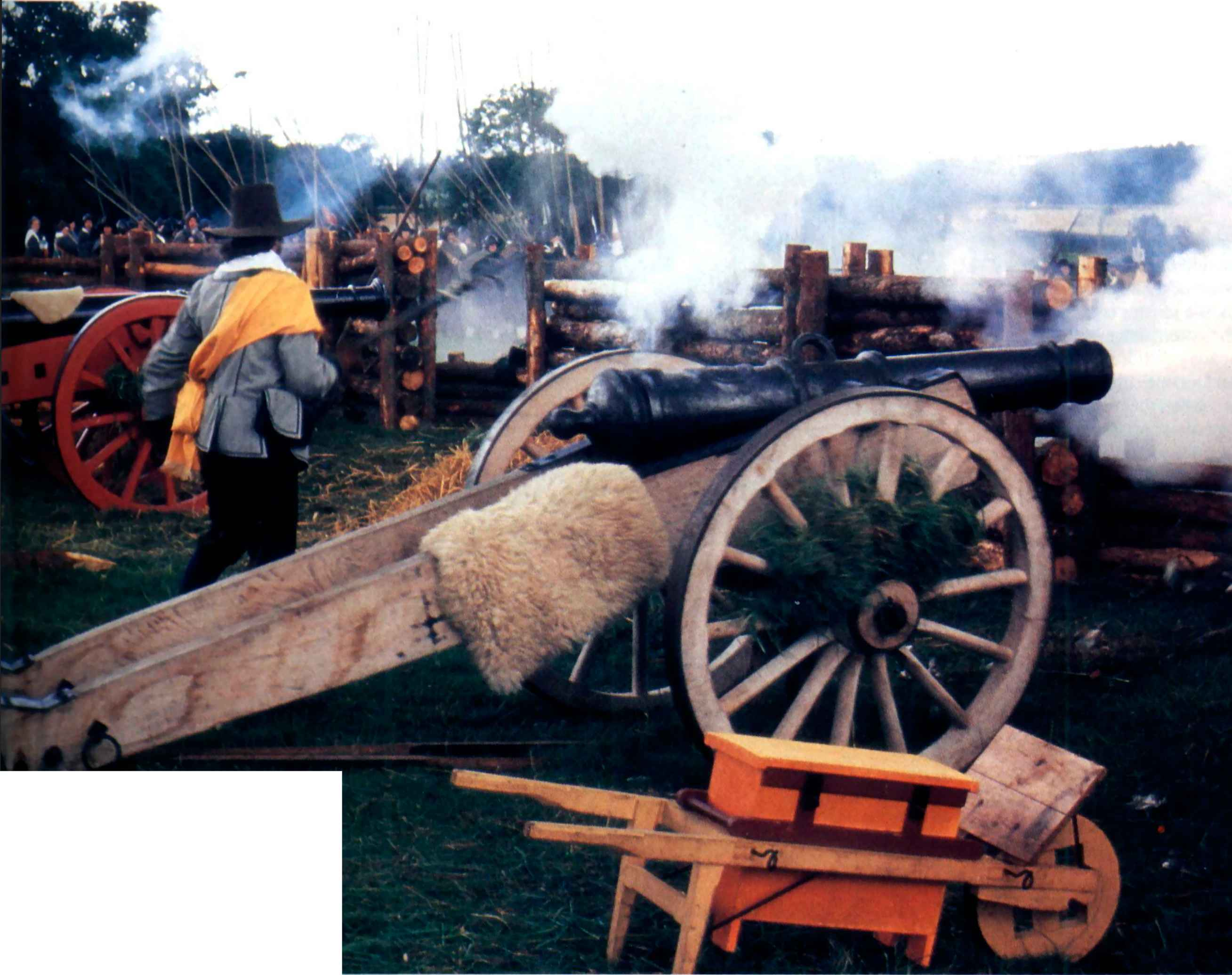 Picture Of All Guns Roundhead Association Mine Creek