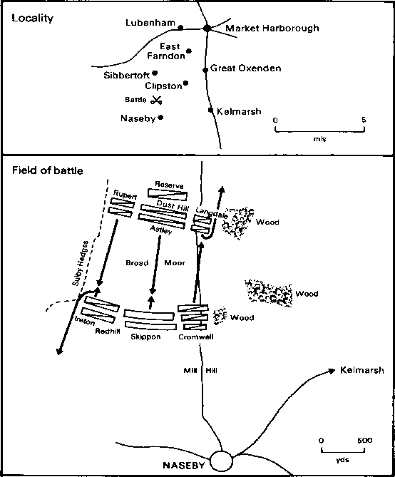 Battle Naseby Map