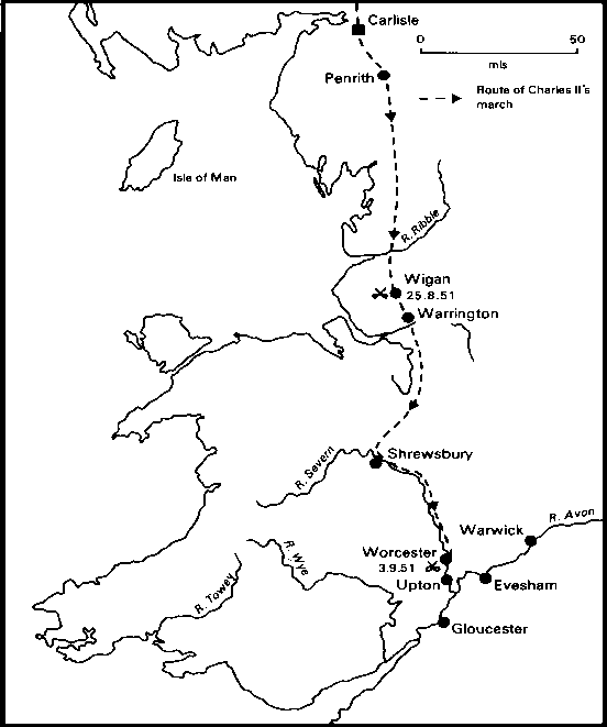 Worcester Campaign Map