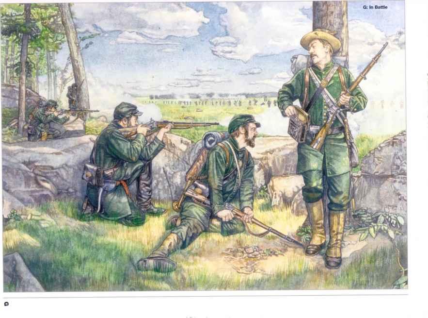 Georgia Sharpshooters Uniforms Sharpshooter Battalion