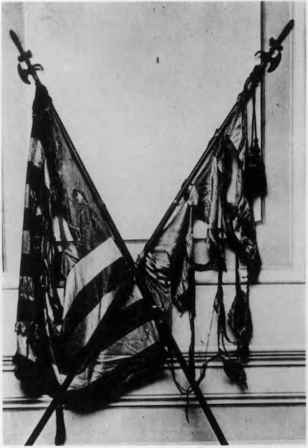 War Torn Regimental Flags