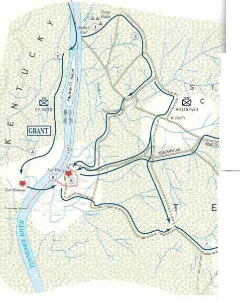 Forts Henry And Donelson Fort Henry And Fort Donelson Campaign