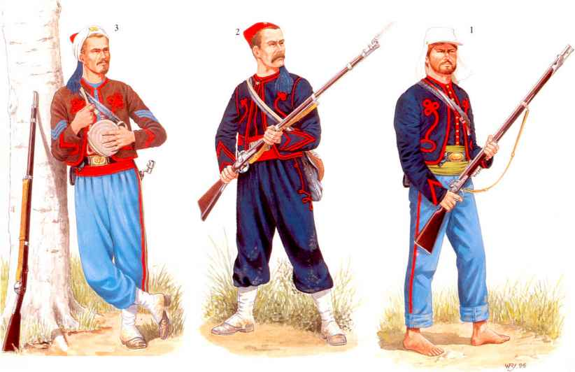Wilderness New York New York Zouaves